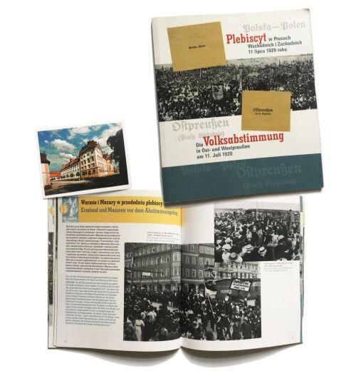 Okładka katalogu wystawy o plebiscytach 1920 roku