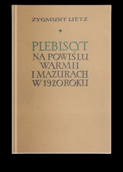 Plebiscyt - Z. Lietz