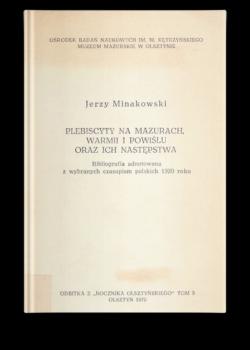Bibliografia Jerzy Minakowski