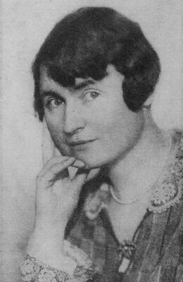 Anna Łubieńska - portret