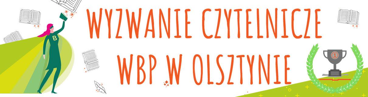 Wyzwanie czytelnicze WBP w Olsztynie - superczytelniczka, książki i puchar